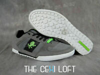 Mens VLADO Sneaker Shoes CORE in GREY BLACK and LIME Casual Dress