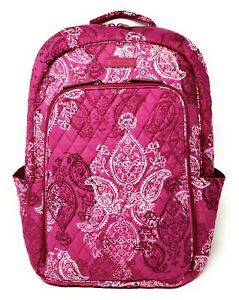 Vera Bradley Lap Top Sleeve Back Pack Water Repellent Stamped Paisley ~ bnwt