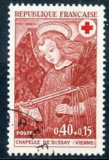 STAMP / TIMBRE FRANCE OBLITERE N° 1662 CROIX ROUGE