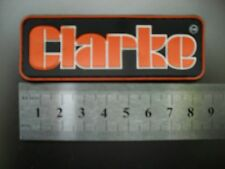 CLARKE  NAME BADGE PHONE COVER FOR SCHOOL PENCIL CASE OVERALLS TOOL BOX