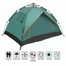 2 Person Automatic Pop Up Outdoor Hiking Camping Tent Waterproof UV Protection