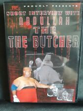 Abdullah The Butcher Pro Wrestling Shoot Interview DVD
