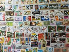 More details for 200 different senegal stamps collection