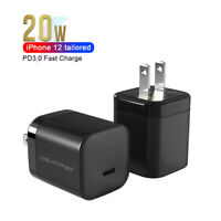 20W Mini PD Fast Charger For Apple 12 Mobile Phone iPad Fast Charging Head