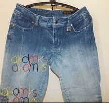 akdmks Cropped Jeans Cute Wide Folded Hem Size 29