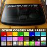 """Windshield Banner 35"""" Vinyl Decal Sticker for Chevrolet Corvette C6 Z06 ZR1 GT1"""