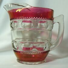 King's Crown Ruby Stained Pitcher