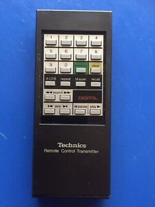 ORIGINAL Technics SH-R22 CD Player REMOTE CONTROL