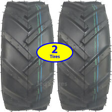 TWO 16x6.50-8 Ditch Witch Trencher Tiller Snow blower thrower TIREs R-1 6ply Lug