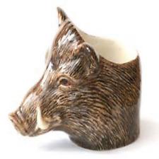 Caille Céramique-sanglier FACE EGG CUP