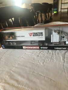 KENWORTH W 900 1:43 SCALE DIE CAST TRACTOR SUPPLY CO. SEMI TRUCK LONG HAULER-NEW