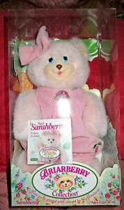 VTG FISHER PRICE BRIARBERRY SARAHBERRY PLUSH ANIMAL Toy NEW IN BOX 1998