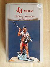 """Ancienne Figurine en Plomb """"Guerrier Indien"""" Par J&J Models"""