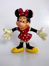 Figurine rare Disney minnie 8,5 cm monogram 1993 Mickey