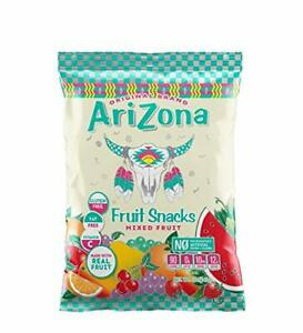 Arizona Real Fruit Gummy Snacks, Fruit Chews, 5-Ounce Bags (Pack of 12)
