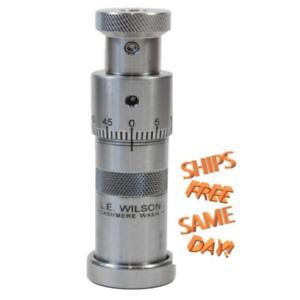 S33-8LP L.E. Wilson S.S Bullet Seater with Micrometer Adjustment 338 Lapua New!