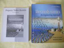 THERMODYNAMICS: AN ENGINEERING APPROACH 7th Ed + PROPERTY TABLES BOOKLET AND CD