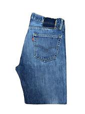Original Levi's 505™ Regular Fit Straight Leg Blue Denim Jeans W32 L30 ES 6991