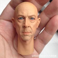 1/6 scale Head Sculpt Hot KUMIK J·K·Simmons Toys James Gordon Oz Schillinger