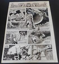 Signed MIKE PLOOG 1976 Marvel Super Action #1  WEIRDWORLD  Magazine Page Comic Art