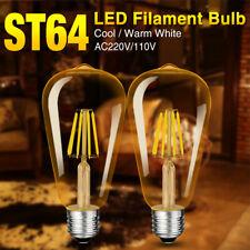 4-16W Dorato Filamento Lampadina E27 EDISON Decor Vintage Stile Lampada AC220V