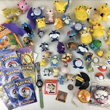 Pokemon Figure Lot Collection Generation 1 Vintage Rare Tomy Figures Book & Toys