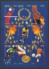 ERITREA 1997 OLYMPICS SHEETLET MINT