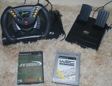 Joytech JORDAN GRAND PRIX F1 FORMULA 1 UNO STERZO RACING WHEEL & PEDALI PS2