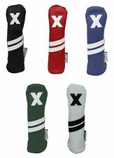 SUNFISH LEATHER HYBRID GOLF HEADCOVER - NEW  - PICK A COLOR
