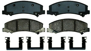 Front /& Rear Ceramic Brake Pad Set Kit ACDelco For Buick Lucerne Cadillac DTS