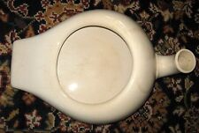 "Antique ""D E. McN. P. Co. LIVERPOOL"" White Porcelain Ironstone Bed Pan/Urinal"