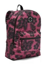 Victoria's Secret PINK Hibiscus Everyday Backpack School Gym Book Bag Bayberry