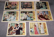 SEX AND THE SINGLE GIRL original 1965 lobby card set NATALIE WOOD/LESLIE PARRISH