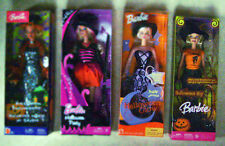 HALLOWEEN BARBIE SET 4 - HALLOWEEN PARTY - GLOW - HIP & ENCHANTRESS NEW IN BOXES