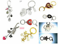 Coach Multi Mix Keyfob Key Chain Keychain Charm - Various Styles - NEW