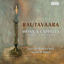 Rautavaara - Missa A Cappella Choral Works Latvian Radio Choir Klava CD NEW
