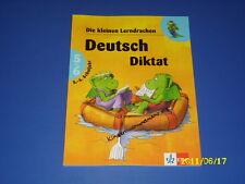 Die kleinen Lerndrachen, Deutsch 5 / 6 Kl. Diktat Übungsheft