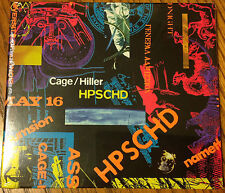 Rare JOHN CAGE limited edition HPSCHD CD