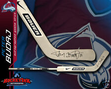 PETER BUDAJ Signed Nike Bauer Goalie Stick - Montreal Canadiens