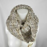 Collection 18 Metallic Acrylic Cowl Neck Infinity Scarf NEW