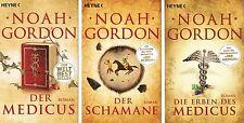 Noah Gordon, Der Medicus, Der Schamane, Die Erben des Medicus (Medicus Trilogie)