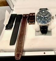 IWC Big Pilot Steel 7 Day Power Reserve Automatic Mens Watch Box/Papers 5004