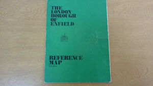 THE LONDON BOROUGH OF ENFIELD REFERENCE MAP 3rd EDITION #1048