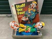 Vintage 1982 Milton Bradley Stuff Yer Face Marble Game - Creepy Clown - Complete