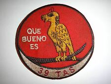 "Vietnam War Patch US 39th TACTICAL AIRLIFT SQUADRON ""Que Bueno Es"" That Is Good"