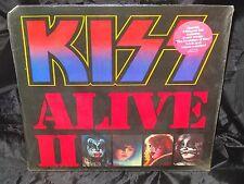 Kiss Alive II SEALED USA 1977 1ST PRESS GATEFOLD 2 LP SET W/ HYPE STICKER