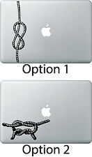 "Knot Love Sticker Apple Mac Book Air/Pro Dell Laptop Decal 13"" 15"" 17"" Infi"