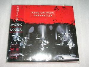 KING CRIMSON thrakattak JAPAN CD Trey Gunn Adrian Belew Robert Fripp Tony Levin