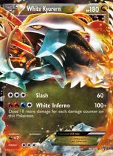 Weißes Kyurem-EX / White Kyurem-EX - 96/135 Plasma Sturm - EX EN NM Pokemon