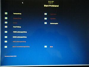 Software Modul Tachoprüfung  Steuerung Leistungsprüfstand u. Auswertung mit PC